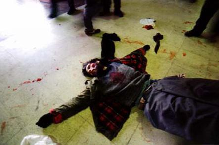 El cuerpo de Darío yace en la estación de Avellaneda